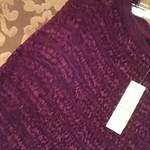Whbm loose fitting loose knit sweater
